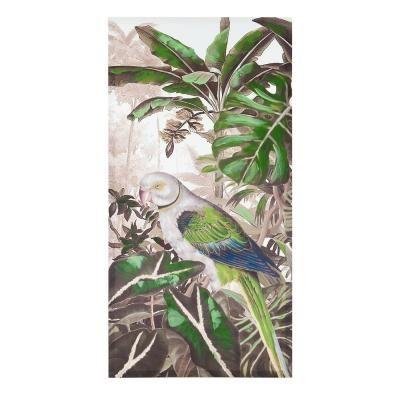 Vászon kép 60x3x120 cm, papagáj kék-zöld szárnnyal - SAO PAULO