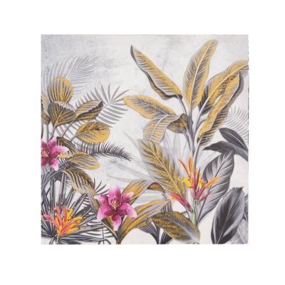 Vászon kép, 40x40 cm, két rózsaszín virággal - AECHMEAS 2