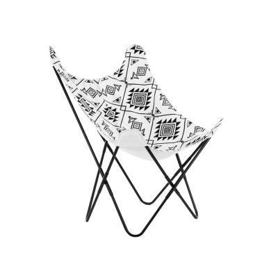 Modern fémvázas szék, mintás - TRIBAL
