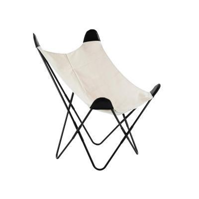 Modern fémvázas szék, natúr - PEPITA