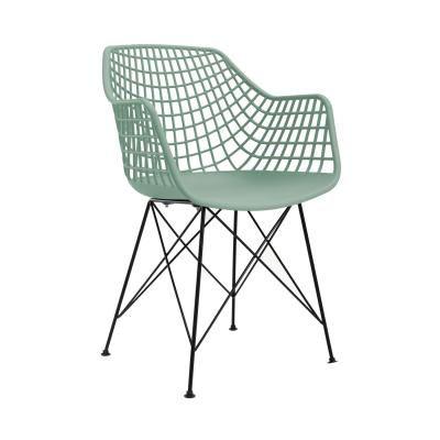 Modern műanyag szövött szék, menta - JAZZ