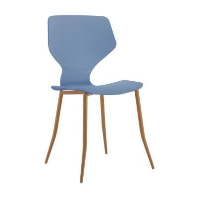 Modern műanyag szék, kék - FOURMI