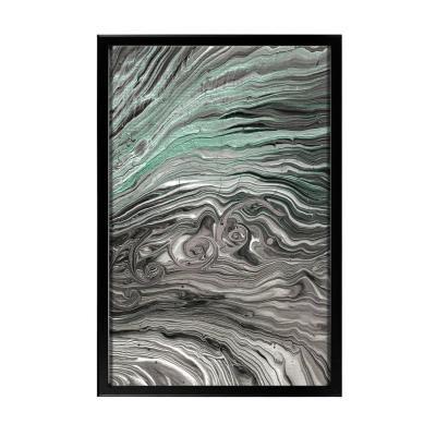 Keretezett falikép 40x60 cm, absztrakt - GLACIER