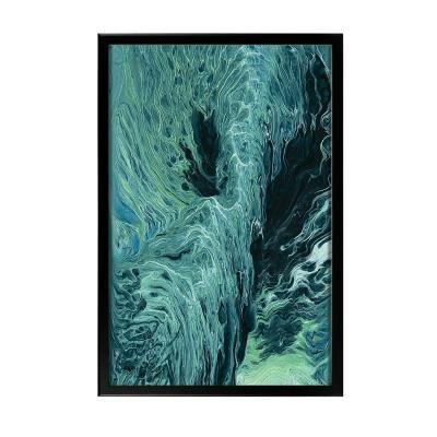 Keretezett falikép 60x40 cm, absztrakt - EMBRUN