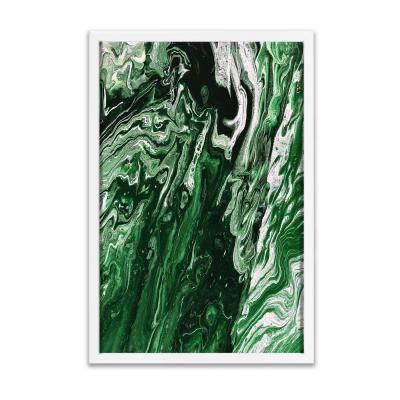 Keretezett falikép 40x60 cm, absztrakt - ESTUAIRE