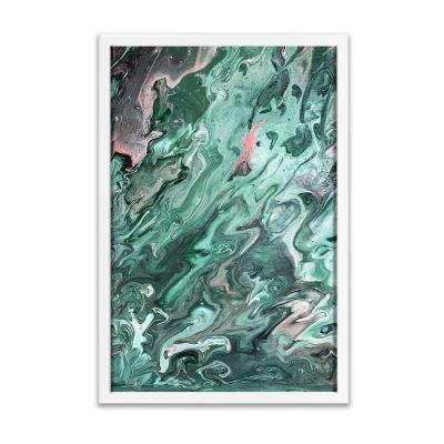 Keretezett falikép 40x60 cm, absztrakt - LA SOURCE
