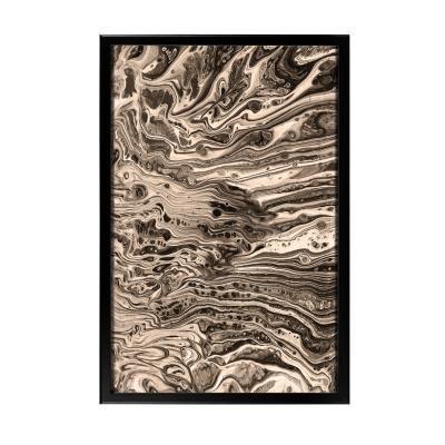 Keretezett falikép 40x60 cm, absztrakt - LUNAIRE