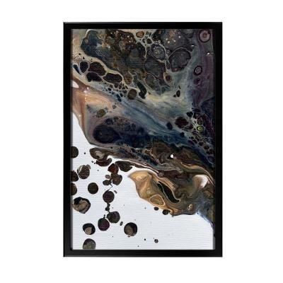 Keretezett falikép 40x60 cm, absztrakt - METEORE