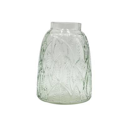 Leveles üveg váza, világoszöld 11,5 cm - BOTANIC