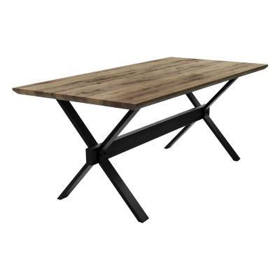 Modern loft stílusú étkezőasztal, 180x90 cm - NEW YORK