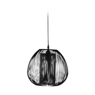 Mennyezeti lámpa, fekete - HANOI