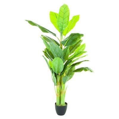 Műnövény, banánfa, 170 cm - BANANIER