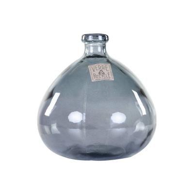 Üveg váza, szürke - BULLE DE SAVON
