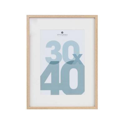 Fali képkeret, 30x40 cm, natúr - CADRE