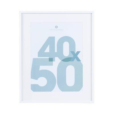 Fali képkeret, 40x50 cm, fehér - CADRE