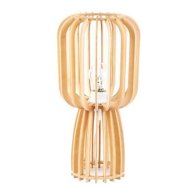 Fa asztali lámpa - LASIOCAMPA