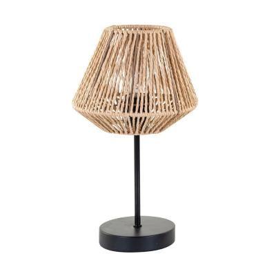 Asztali lámpa papír búrával, natúr - LA MOTTE