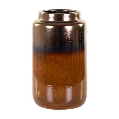 Homokkő váza barna, 25 cm - AMBRE