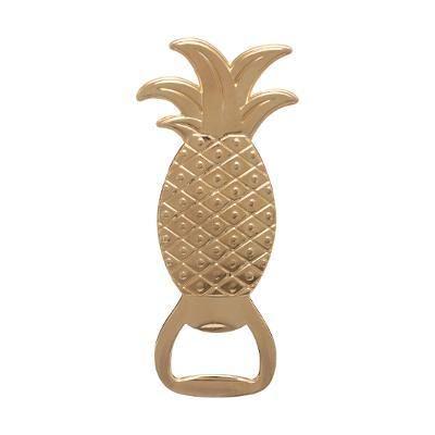 Ananász formájú sörnyitó, arany - ANANASTELLE