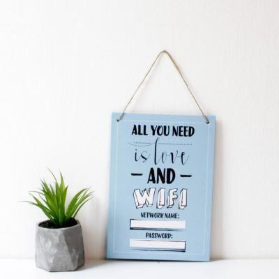 Akasztós táblakép - ALL YOU NEED