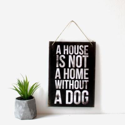 Akasztós táblakép - DOG LOVER
