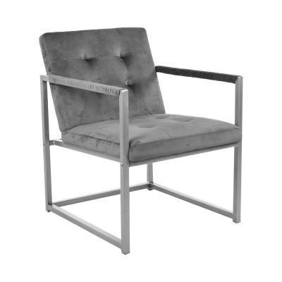 Fotel fém vázzal, szürke - KIPLING