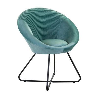 Modern kerek fotel, szegett, menta - OVNI