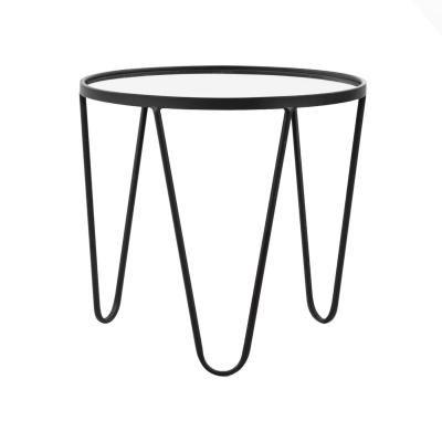 Fém lerakóasztal, 46,5 cm - HEMATITE