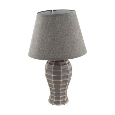 Asztali lámpa, szürkésbarna - NASSE