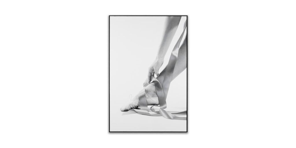 Falikép 40x60 cm, balerina - POINTE