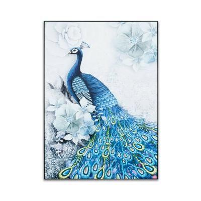Falikép 50x70 cm, páva - PAON