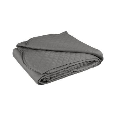 Ágytakaró, steppelt, 150x200 cm, antracit - PLAINE