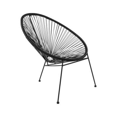 Modern szék, fekete - SAO PAULO