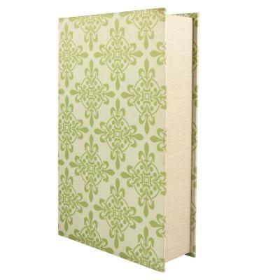 Selyem könyvdoboz, 33 cm - PASTEL RETRO