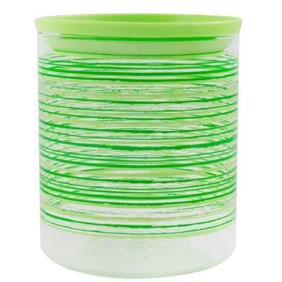 Tároló üveg zöld 6,5 dl - RAINBOW