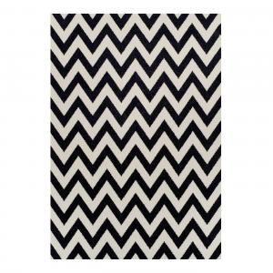 Cikk-cakk mintás szőnyeg, 190x133 cm - CHEVRON