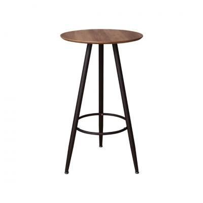 Loft stílusú kerek bárasztal, 60 cm - SAN DIEGO BAR