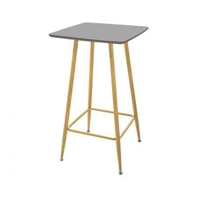 Szürke bárasztal, 102 cm - NEVADA BAR