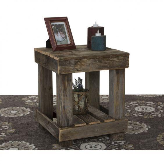 raklap bútor - kisasztal