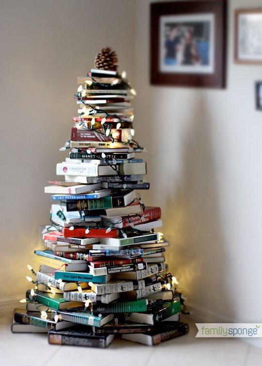 könyv karácsonyfa