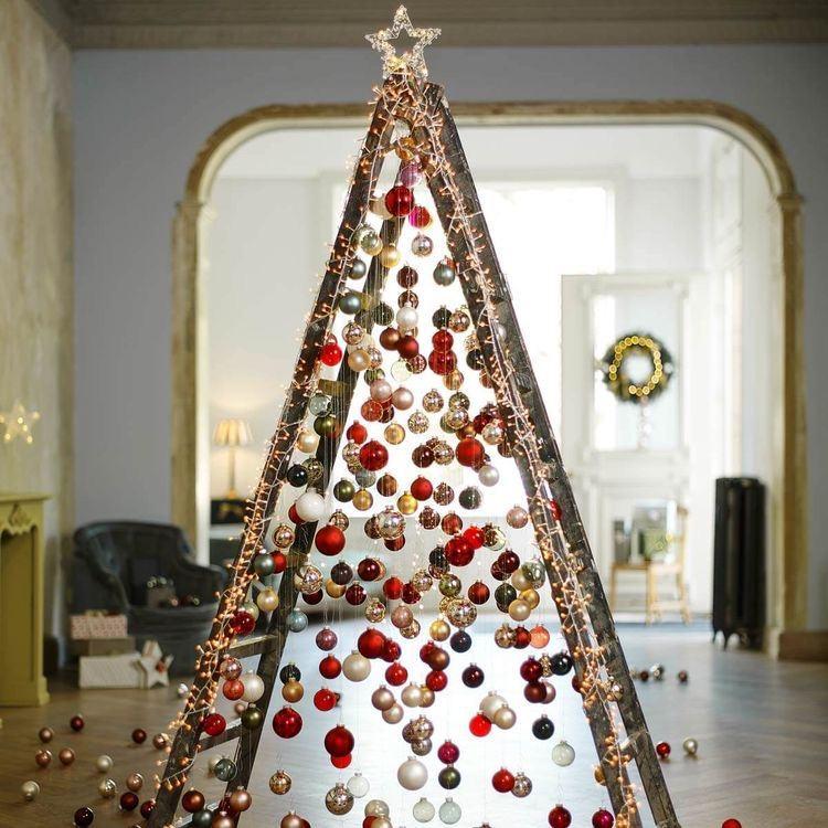 létra karácsonyfa
