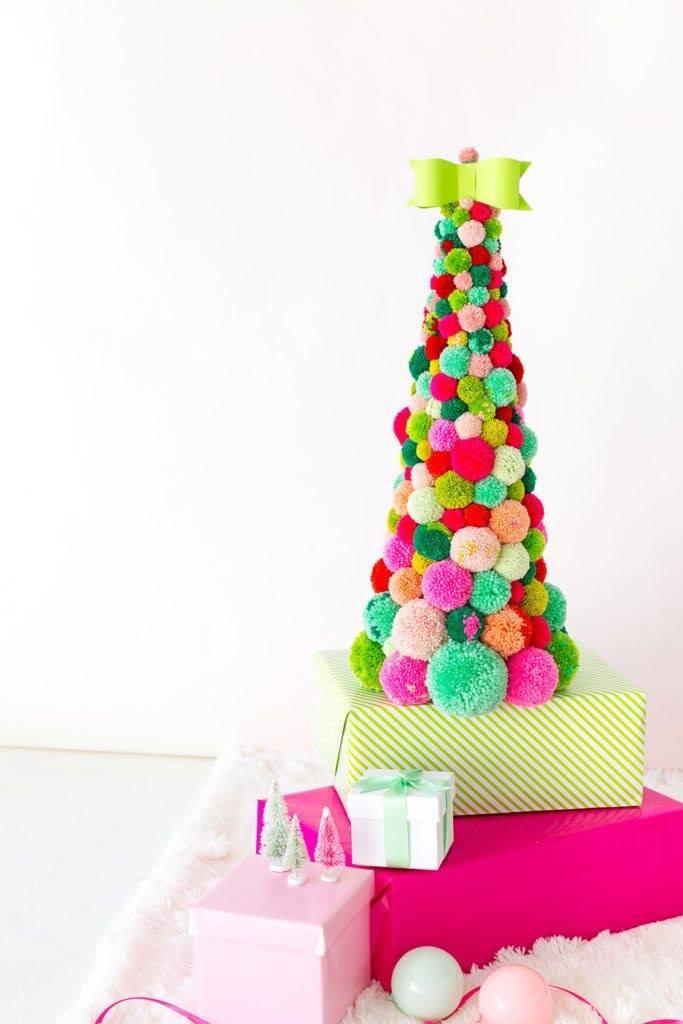 pompom karácsonyfa