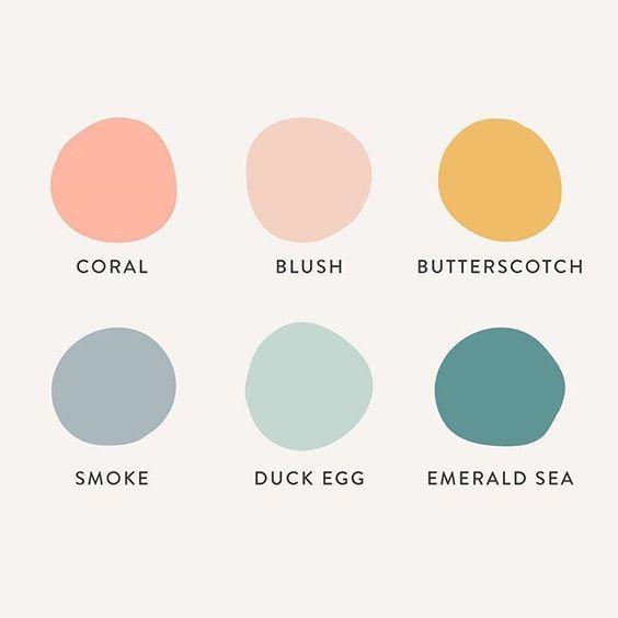 hyggelig színek