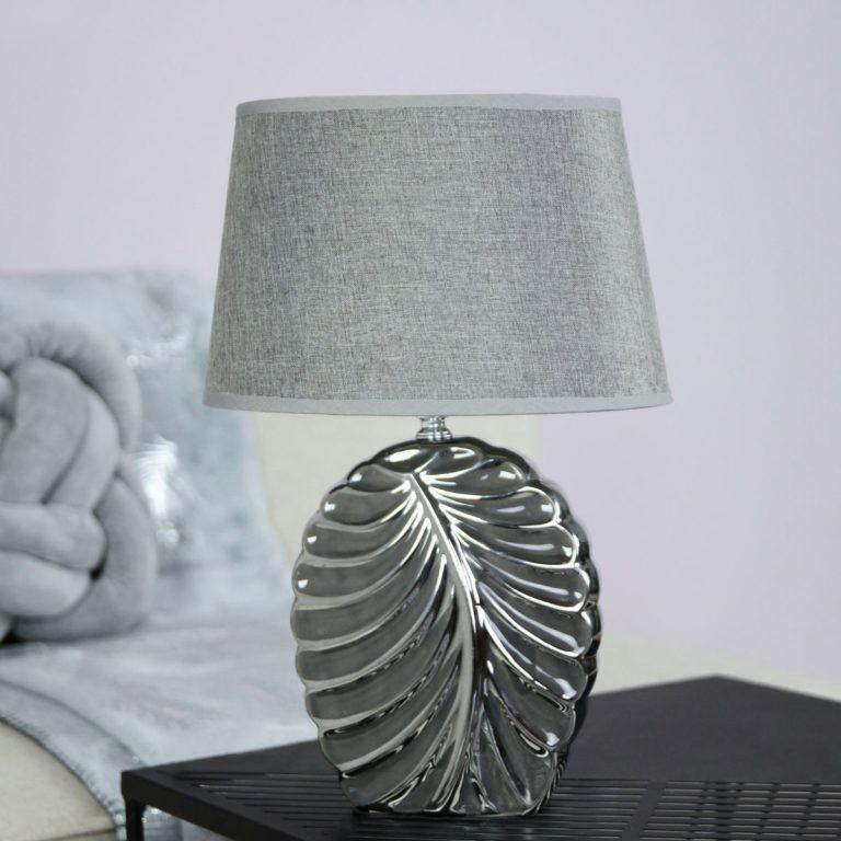 fém dekoráció asztali lámpa Triton