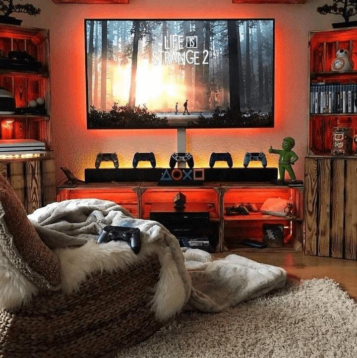 Videojáték szoba otthoni programok