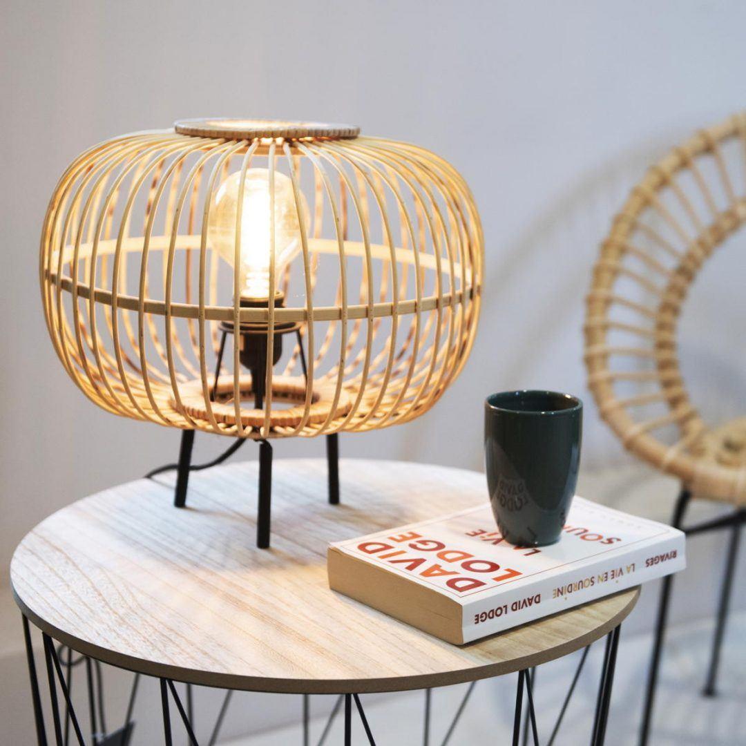 Bambusz lámpa