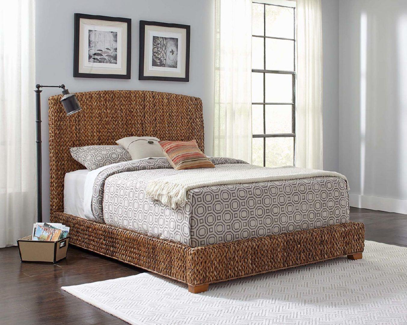 Banánlevél ágy - Fonott bútorok