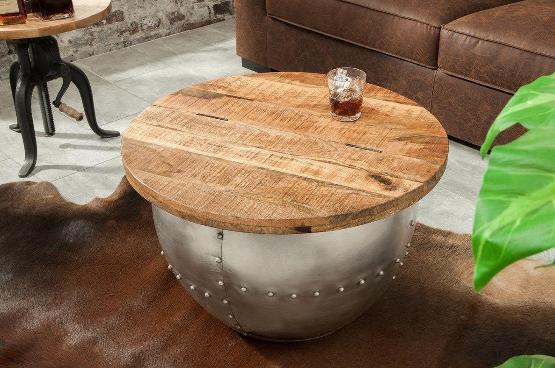 Mangó tárolós kisasztal