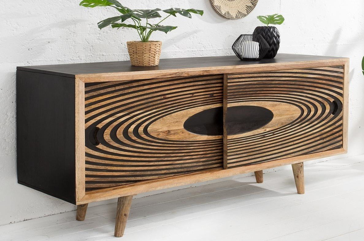 Tömörfa tároló - fa bútorok