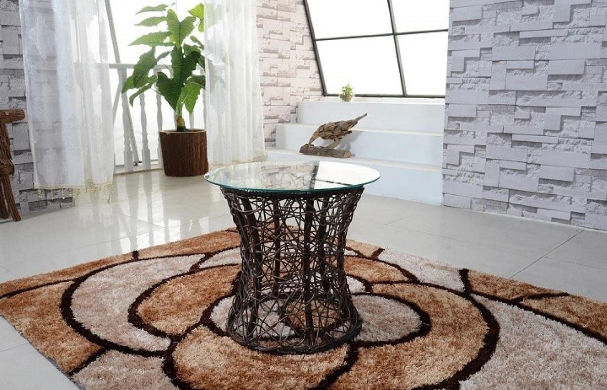 Kerti fonott bútorok - Műrattan kisasztal